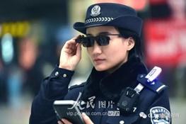 خلافکاران چین از این پس با عینک جدید پلیس دستگیر میشوند