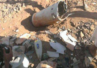 سقوط یک فروند هواپیمای شناسایی ائتلاف عربی در صعده عربستان