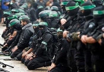 رزمایش حماس در برابر تهدید اسرائیل