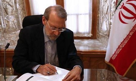 تسلیت لاریجانی برای کشته شدن جمعی از مردم روسیه در آتش سوزی