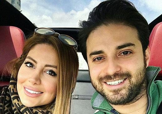 عکس های جدید بابک جهانبخش و همسرش