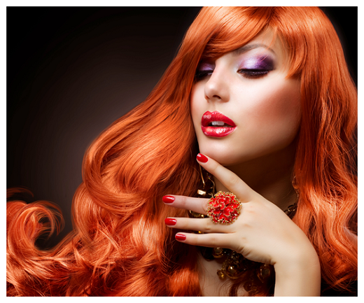 مدل رنگ موی شاد و مجلسی