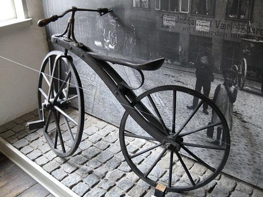تصاویری از دوچرخه های ابتدایی و قدیمی