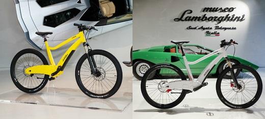 رونمایی لامبورگینی از دوچرخه الکتریکی + عکس