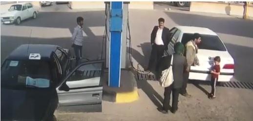 انفجار شدید در پمپ گاز در یکی از شهرهای ایران + فیلم
