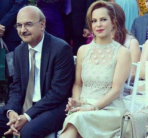 عکسی جالب از ایرج طهماسب و همسرش