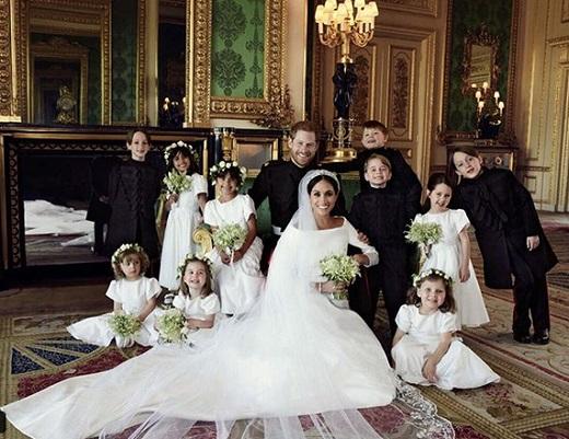 عکسهایی از عروسی سلطنتی کاخ کنزینگتون در انگلیس