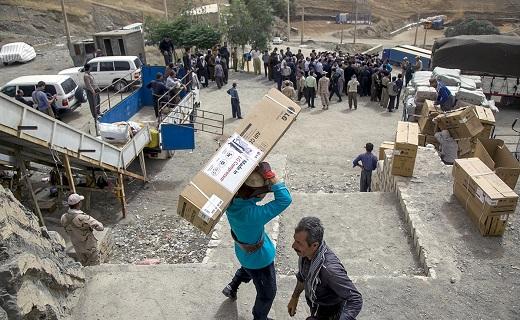 بازگشایی مرز شیخ صله در کرمانشاه