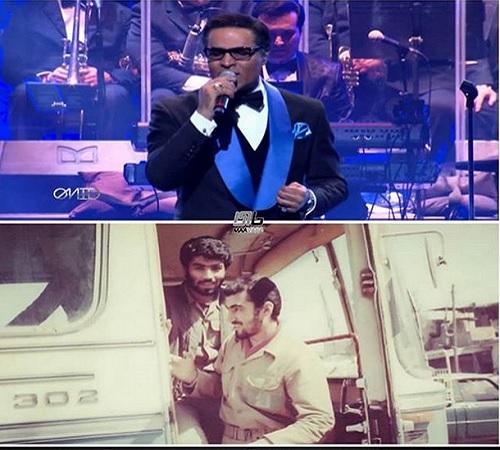 خواننده ماهواره ای معروف که در عملیات کرخه حضور داشت