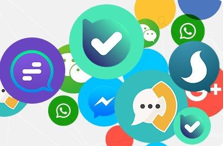جذب 8.5 میلیون کاربر توسط پیام رسان های داخلی