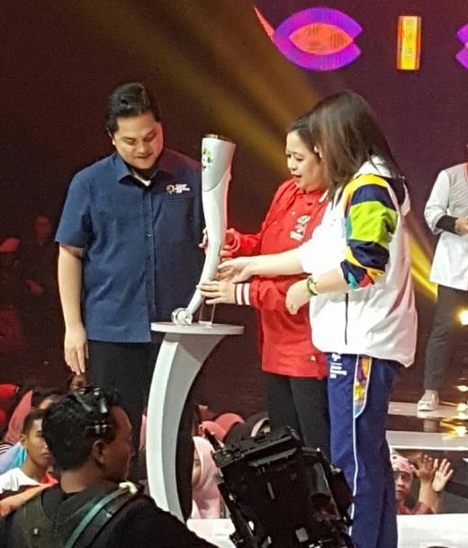 مشعل بازی های آسیایی 2018 رونمایی شد