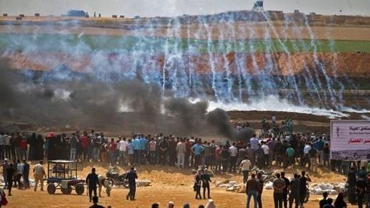 بیش از 100 فلسطینی در تظاهرات روز جمعه غزه زخمی شدند