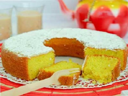 طرز تهیه کیک خوشمزه زعفرانی