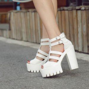 کفش های تابستانی دخترانه ساده و شیک