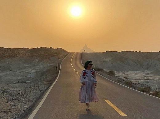 جدیدترین عکسهای الناز شاکردوست در چابهار
