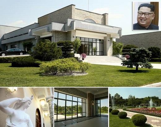 عکس هایی از سکونتگاه کیم جونگ اون رهبر کره شمالی