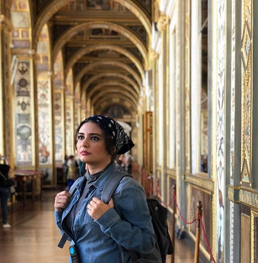 عکسهای جدید لیندا کیانی در روسیه