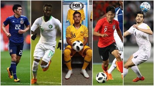 معرفی 5 ستاره جوان آسیا در جام جهانی 2018 روسیه