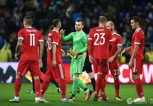 روسیه 1 ترکیه 1 ،توقف میزبان جام جهانی برابر ترکیه