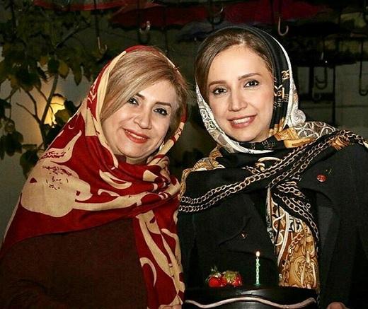 عکسی جدید از شبنم قلی خانی و خواهرش
