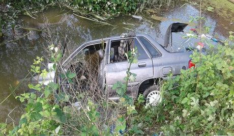 مصدومیت 3 نفر در پی سقوط خودرو به دره در جاده چالوس