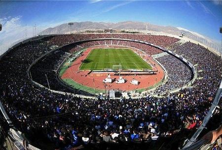 مسابقات جام جهانی 2018 را در ورزشگاه آزادی