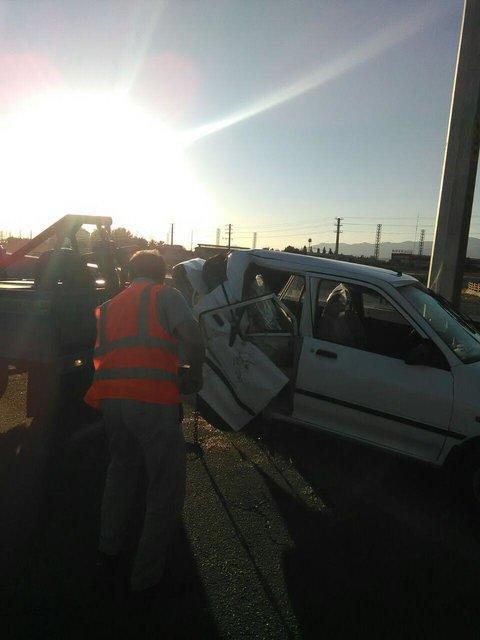 جزئیات سه حادثه در البرز که یک کشته و 15 مصدوم در پی داشت