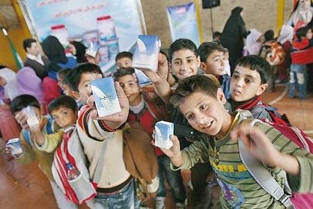 آغاز توزیع شیر در مدارس از نیمه دوم مهرماه 97