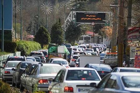 جاده چالوس امروز سه شنبه 15 خرداد 97 یک طرفه می شود