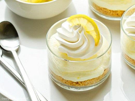 آموزش طرز تهیه چیز کیک لیمویی