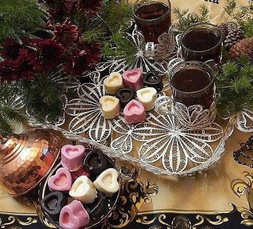آموزش طرز تهیه پشمک شکلاتی قالبی