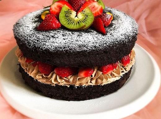 آموزش طرز تهیه کیک شیفون موکا