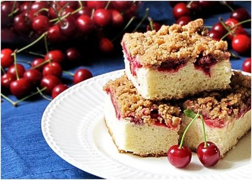 آموزش طرز تهیه تارت کیک آلبالو و گیلاس