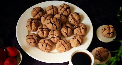 آموزش طرز تهیه کوکی قهوه - کاکائو