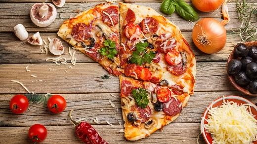 طرز تهیه یه پیتزای سالم و خوشمزه