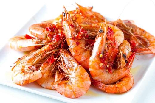 میگو بهترین منبع پروتئین و کلسترول مفید برای بدن