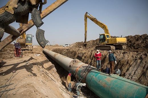 پروژه آب رسانی به آبادان و خرمشهر
