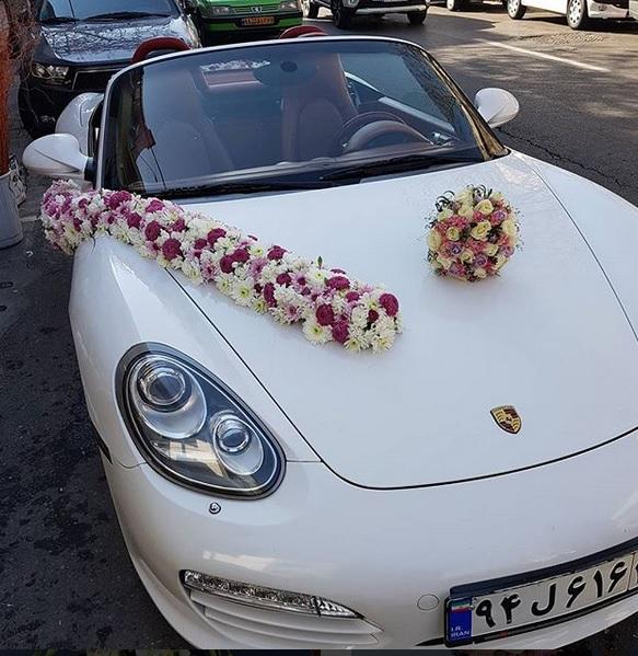 جدیدترین مدل تزیین ماشین عروس
