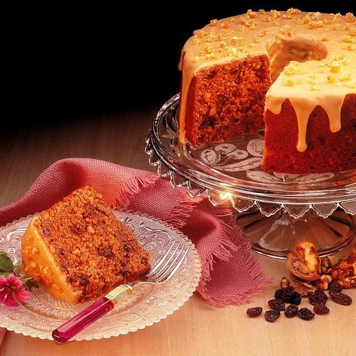 آموزش طرز تهیه کیک کشمشی