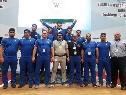 تیم وزنهبرداری جوانان ایران