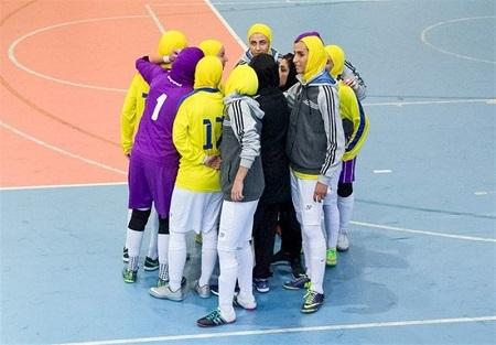 پخش زنده فصل جدید لیگ برتر فوتسال بانوان