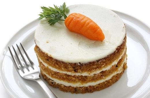 آموزش طرز تهیه کیک هویج و دارچين با مغز گردو