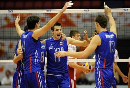 روسیه قهرمان لیگ ملت های والیبال شد