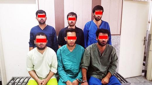 دستگیری تعدادی از زورگیران خشن تهرانی