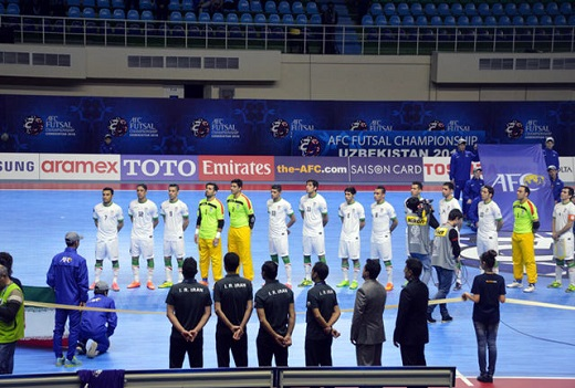 حضور تیم ملی فوتسال ایران در تورنمنت چهارجانبه قزاقستان