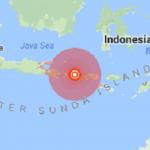 زلزله 7 ریشتری اندونزی