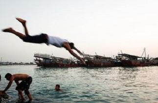 اعمال ممنوعیت شنا در دریای خزر