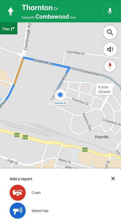 ثبت تصادفات و حضور پلیس در گوگل مپس ممکن می شود