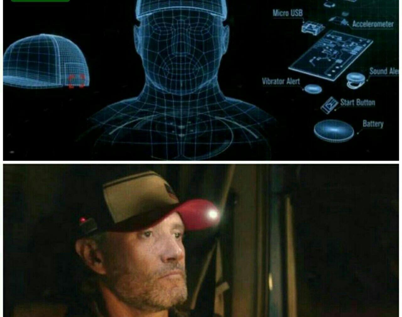 شرکت فورد یک کلاه ضد خواب برای رانندگان کامیون ساخته است