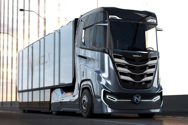 کامیون هیدروژنی و برقی نیکلا Tre